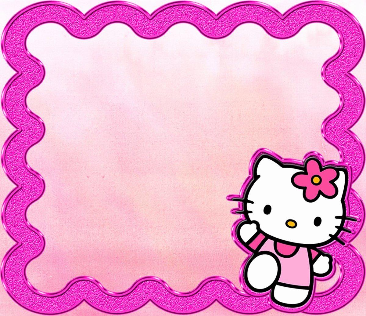 Hello Kitty Invite Template Lovely Hello Kitty Free Printable Invitation Templates