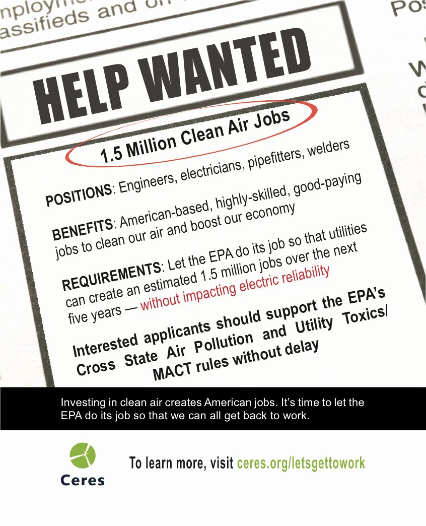 Help Wanted Ad Template Awesome Climateaccess
