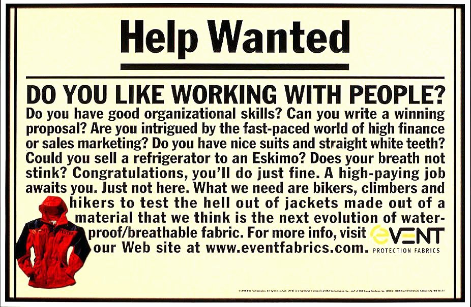 Help Wanted Ad Template Inspirational 95 Help Wanted Poster Examples Help Wanted Flyer