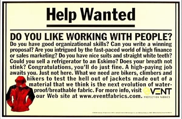 Help Wanted Ad Template Lovely Help Wanted Newspaper Ad Template event Sports Performance