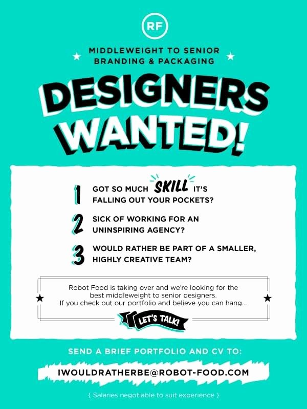 Help Wanted Ad Template Luxury 26 Crazily Creative Recruitment Ads Your Need to See