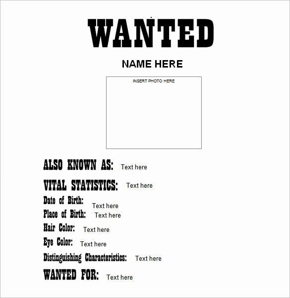 Help Wanted Flyer Template Elegant Wanted Poster Template 34 Free Printable Word Psd