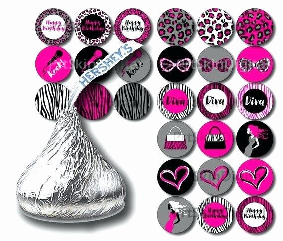Hershey Kisses Labels Template Inspirational Hershey Kiss Stickers Lovebirds Wedding – Kozman