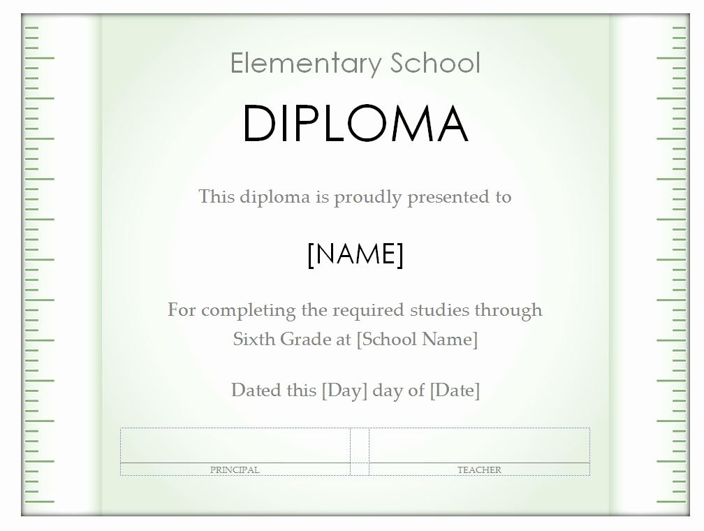 High School Diploma Template Beautiful High School Diploma Template