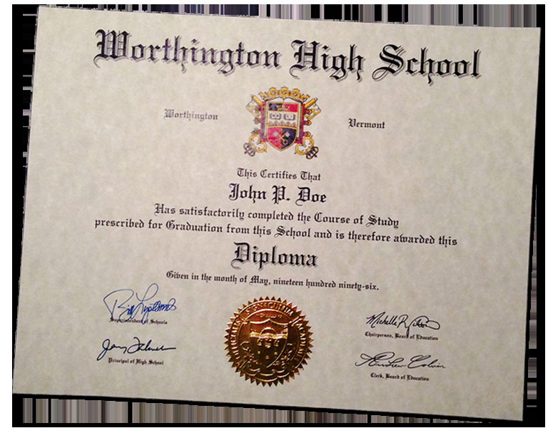 High School Diploma Template Fresh Buy A Fake High School Diploma & Transcripts Line