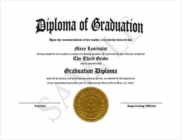 High School Diploma Template Luxury 9 Diploma Templates Free Psd Ai Vector Eps format