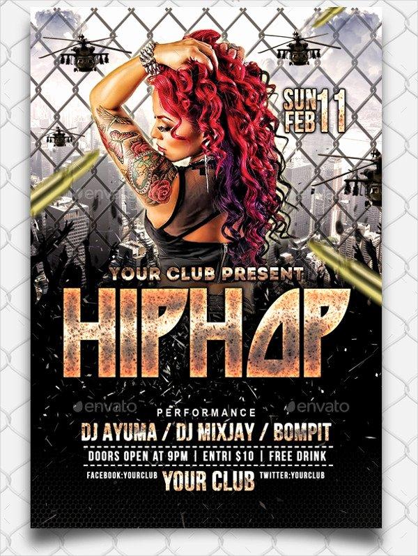 Hip Hop Flyer Template Beautiful Hip Hop Flyer Templates Yourweek 2cd321eca25e