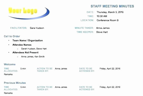 Hoa Meeting Minutes Template Lovely Hoa Minutes Template Free Download Sample Condo Meeting
