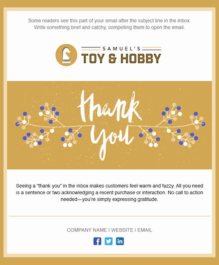 Holiday E Mail Template Awesome 11 Holiday Email Templates for Small Businesses & Nonprofits