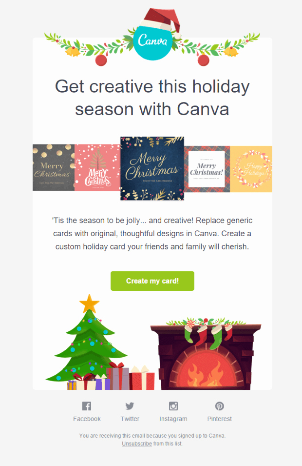 Holiday E Mail Template Beautiful Christmas Email Template Ideas with 15 Inspirational Examples
