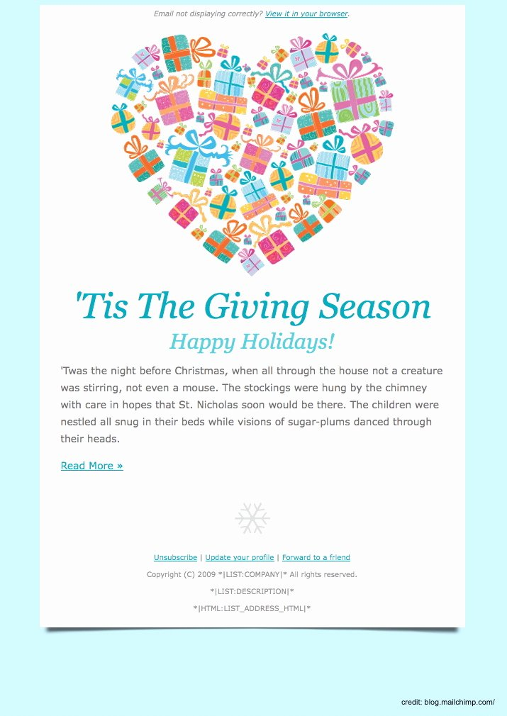 Holiday E Mail Template Elegant Finding the Right Holiday Greetings Email Template Mailbird