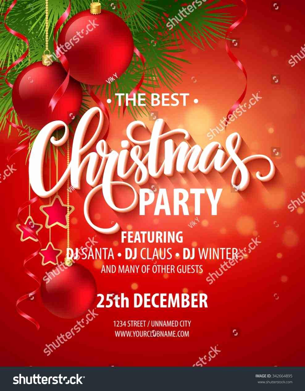 Holiday Flyer Template Word Awesome Christmas Flyer Word Template 075f Cfe Abilityskillup