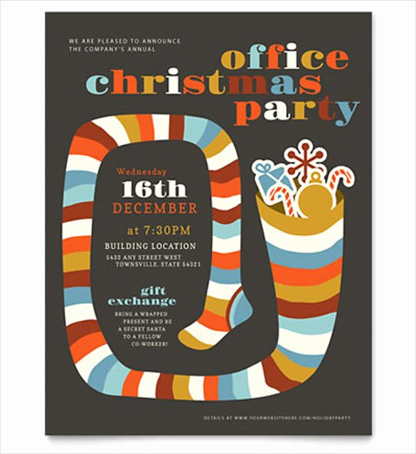 Holiday Flyer Template Word Elegant 23 Word Party Flyer Templates Free Download