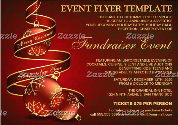 Holiday Flyer Template Word Luxury 44 Printable event Flyers Word Psd Ai Indesign