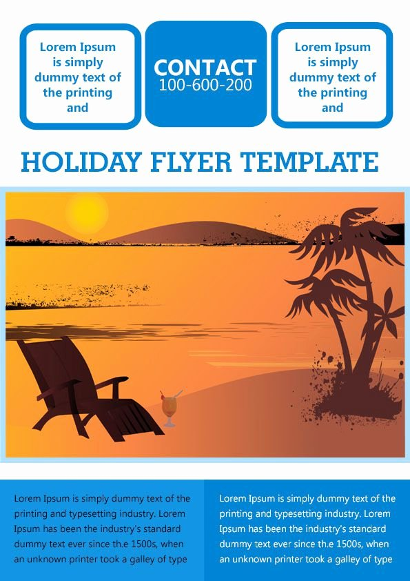 Holiday Flyer Template Word New 23 Free Holiday Flyer Templates Download Free Printable