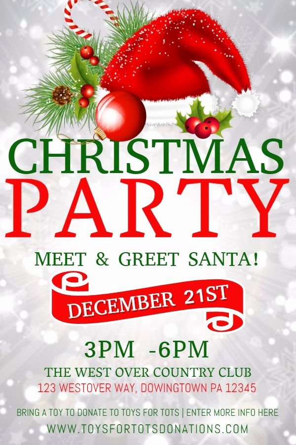 Holiday Flyer Template Word New 40 Best Christmas Poster Templates Images On Pinterest
