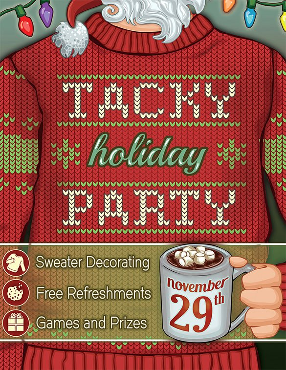 Holiday Party Flyer Template Best Of 27 Holiday Party Flyer Templates Psd