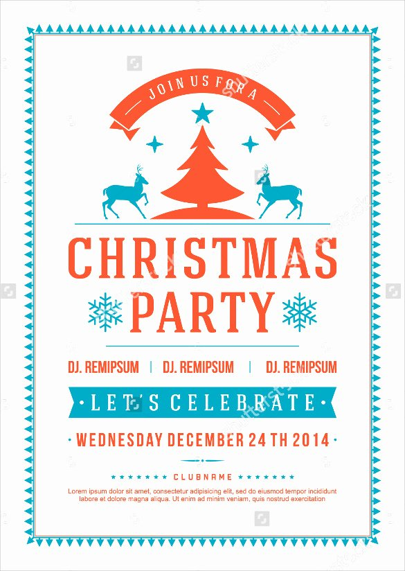Holiday Party Flyer Template Unique Amazing Holiday Party Flyer Templates 21 Download