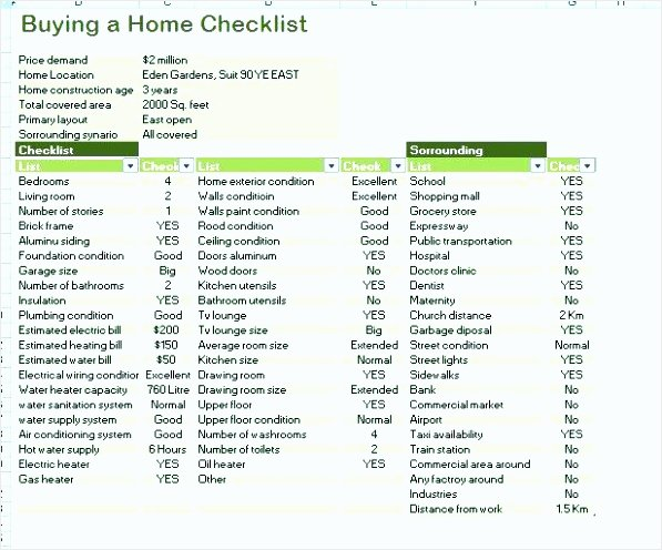 Home Buyer Checklist Template New 7 Home Buyer Checklist Template Tipstemplatess