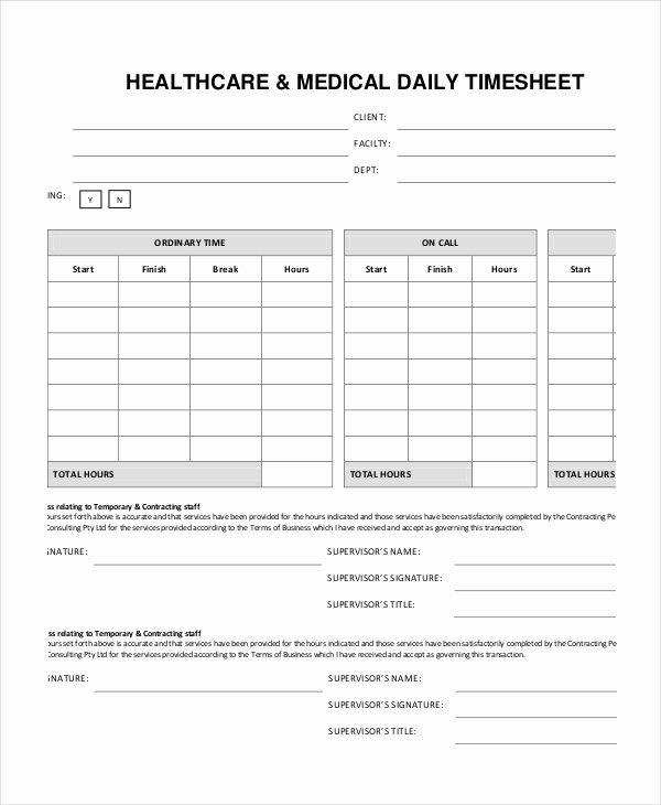 Home Care Timesheet Template Awesome Home Care Timesheets Homemade Ftempo