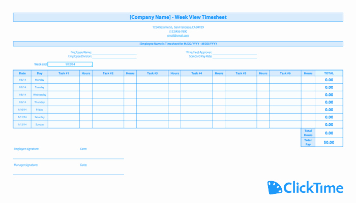 Home Care Timesheet Template Best Of Free Timesheet Template Printable Timesheets