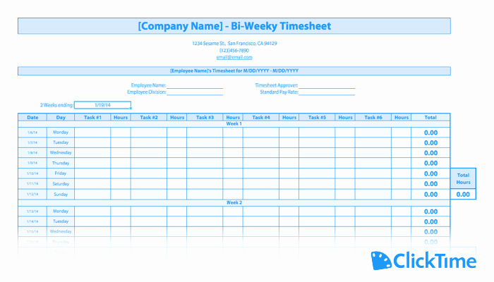 Home Care Timesheet Template Lovely Free Timesheet Template Printable Timesheets