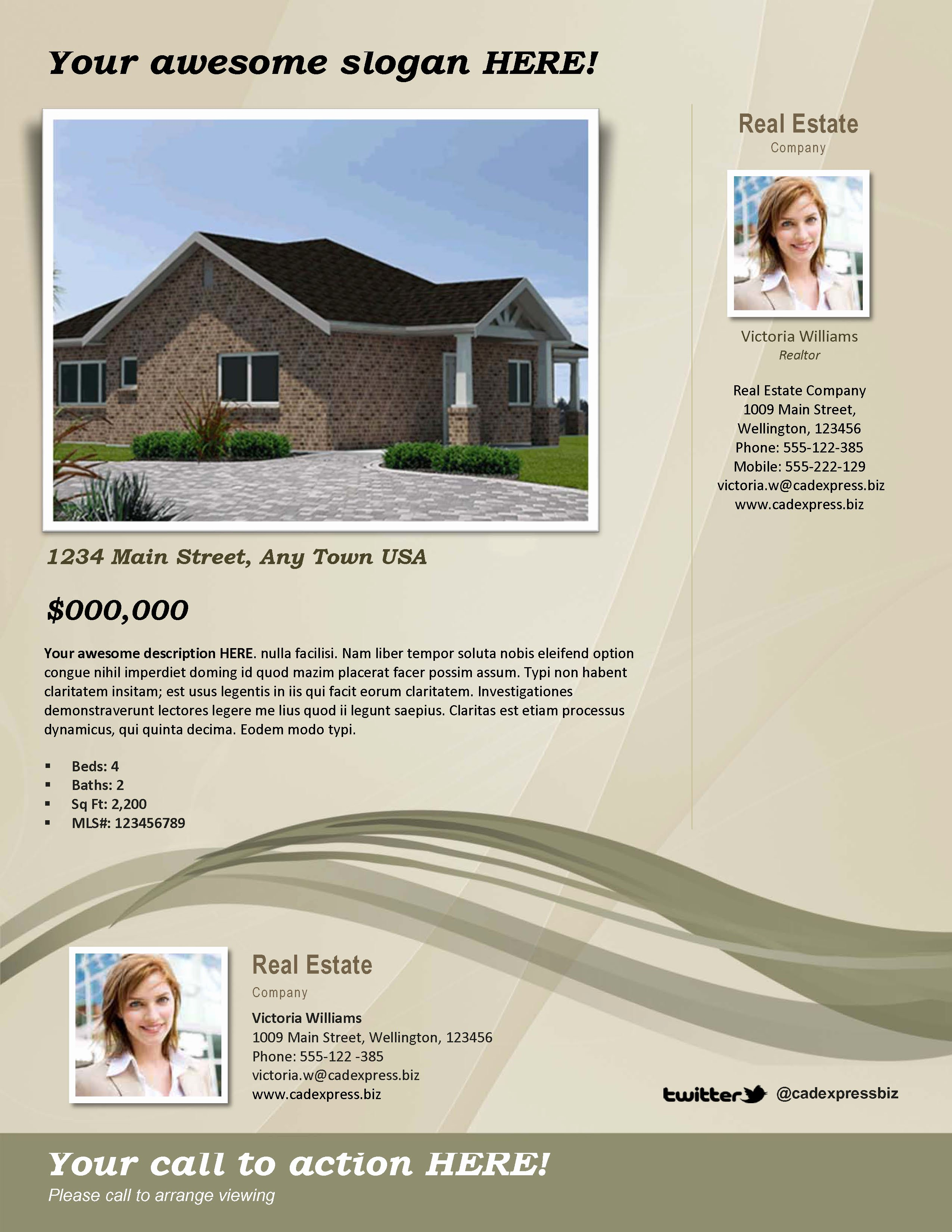 Home for Sale Template Awesome 10 Best Of Home by Owner Brochure Template for