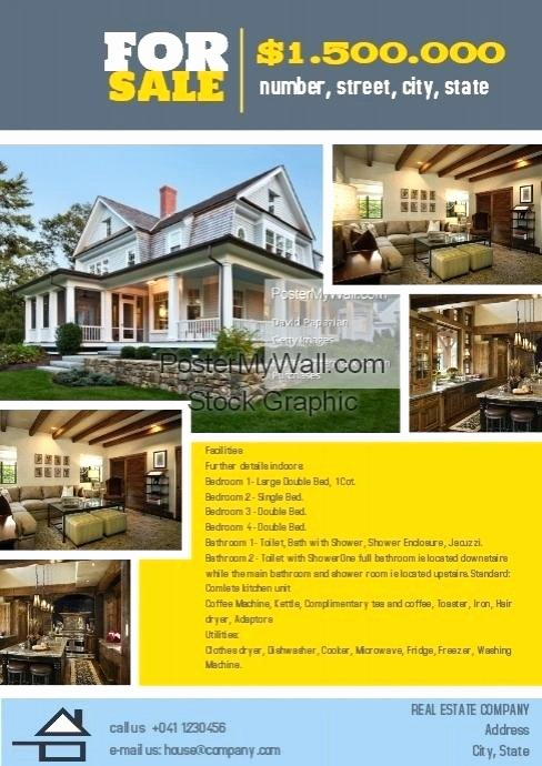 Home for Sale Template Inspirational House for Sale Brochure Template – Flybymedia