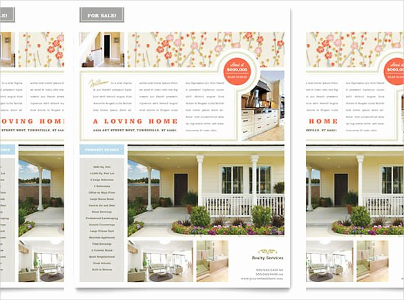 Home for Sale Template Luxury 38 Real Estate Flyer Templates Psd Ai Word Indesign