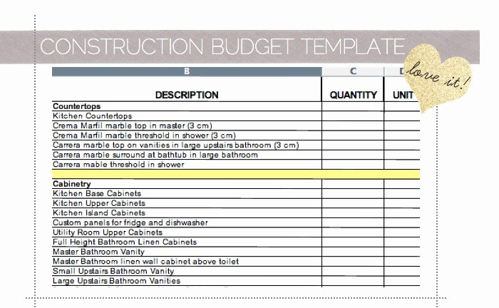 Home Renovation Budget Template Inspirational Home Renovation Cost Spreadsheet Samplebusinessresume