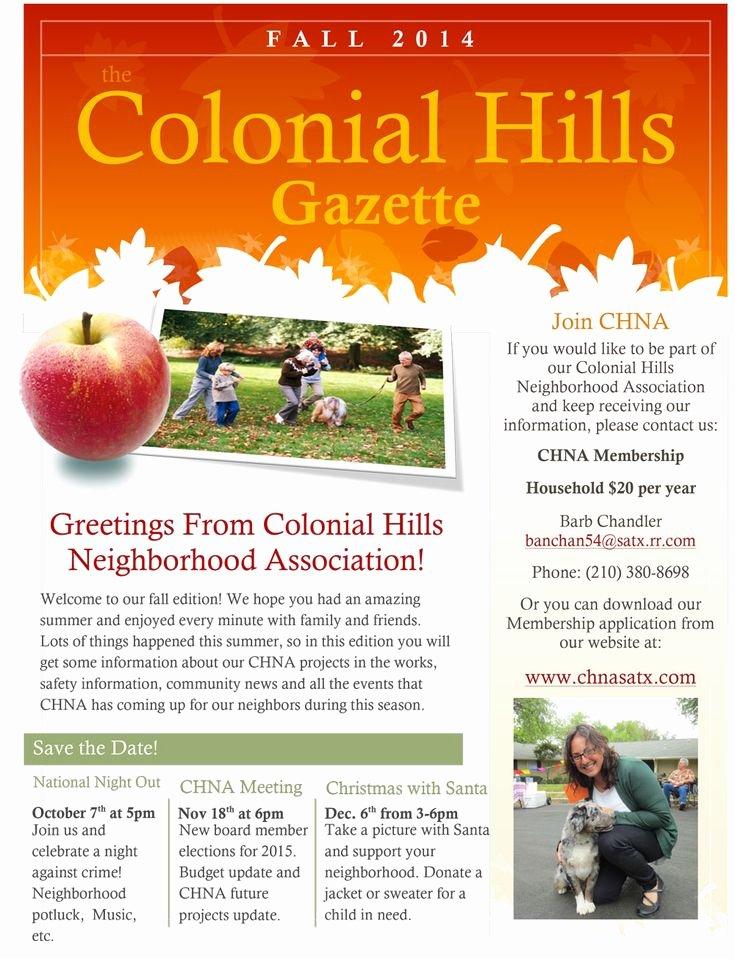 Homeowners association Newsletter Template Elegant Best 25 Neighborhood association Ideas On Pinterest