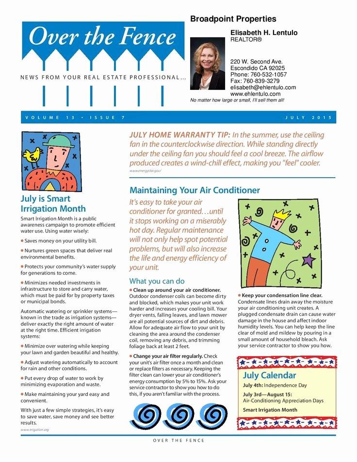 Homeowners association Newsletter Template Elegant Pin by Elisabeth Hartig Lentulo On Helpful Stuff