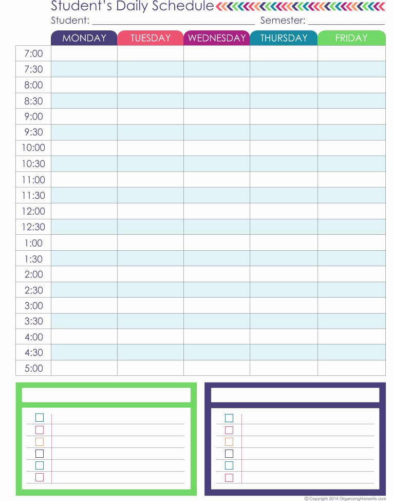 Homeschool Daily Schedule Template New Homeschool Planner Expansion Pack organizing Homelife