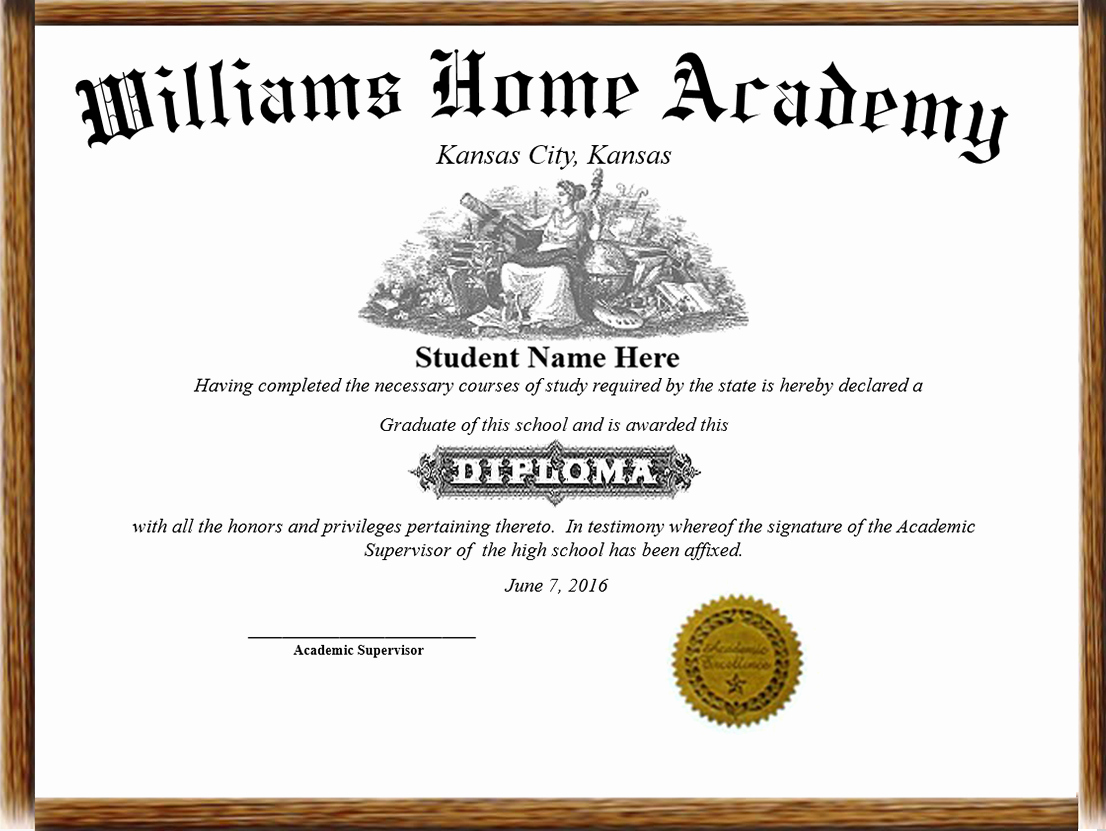 Homeschool Diploma Template Free Beautiful Home School Diplomas