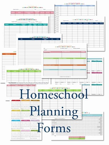 Homeschool Lesson Plan Template Awesome 2015 2016 Homeschool Lesson Planner Confessions Of A
