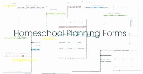 Homeschool Lesson Plan Template Luxury Unique Free Lesson Plan Tes Printable Te Amazing Blank