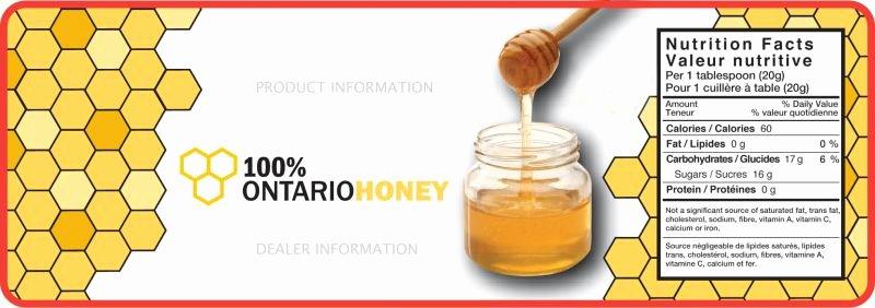 Honey Jar Labels Template Beautiful Honey Labels