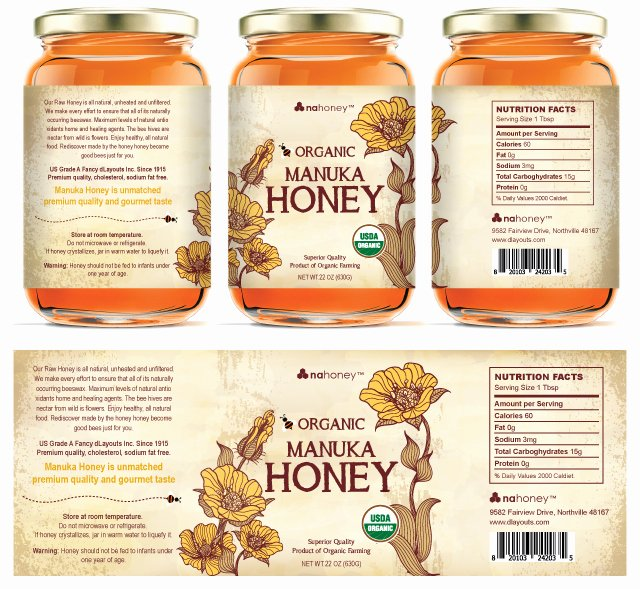 Honey Jar Labels Template Best Of Honey Nutrition Label Template