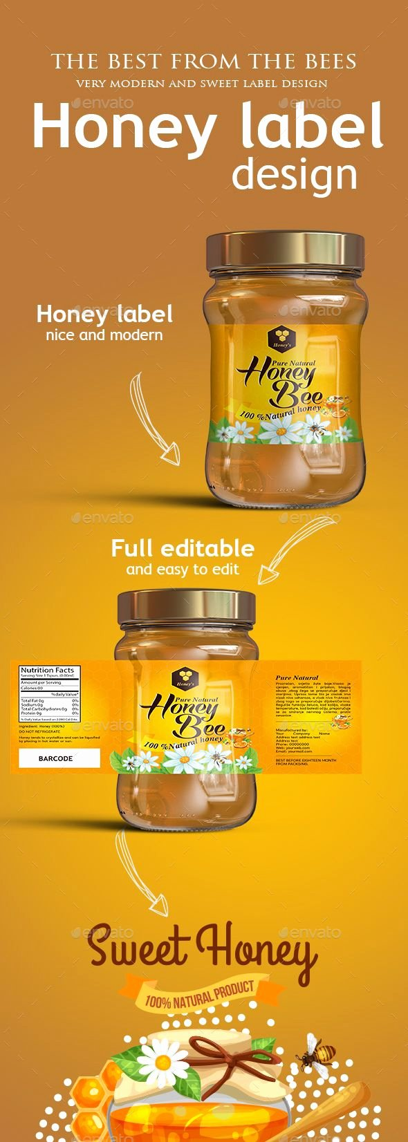 Honey Jar Labels Template Elegant Pin by Maria Alena On Packaging Template