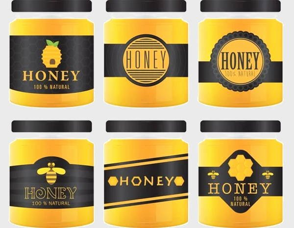 Honey Jar Labels Template Luxury 8 Honey Jar Label Templates Psd Word Pdf