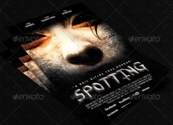 Horror Movie Poster Template Inspirational 20 Cool Horror Poster Templates – Design Freebies