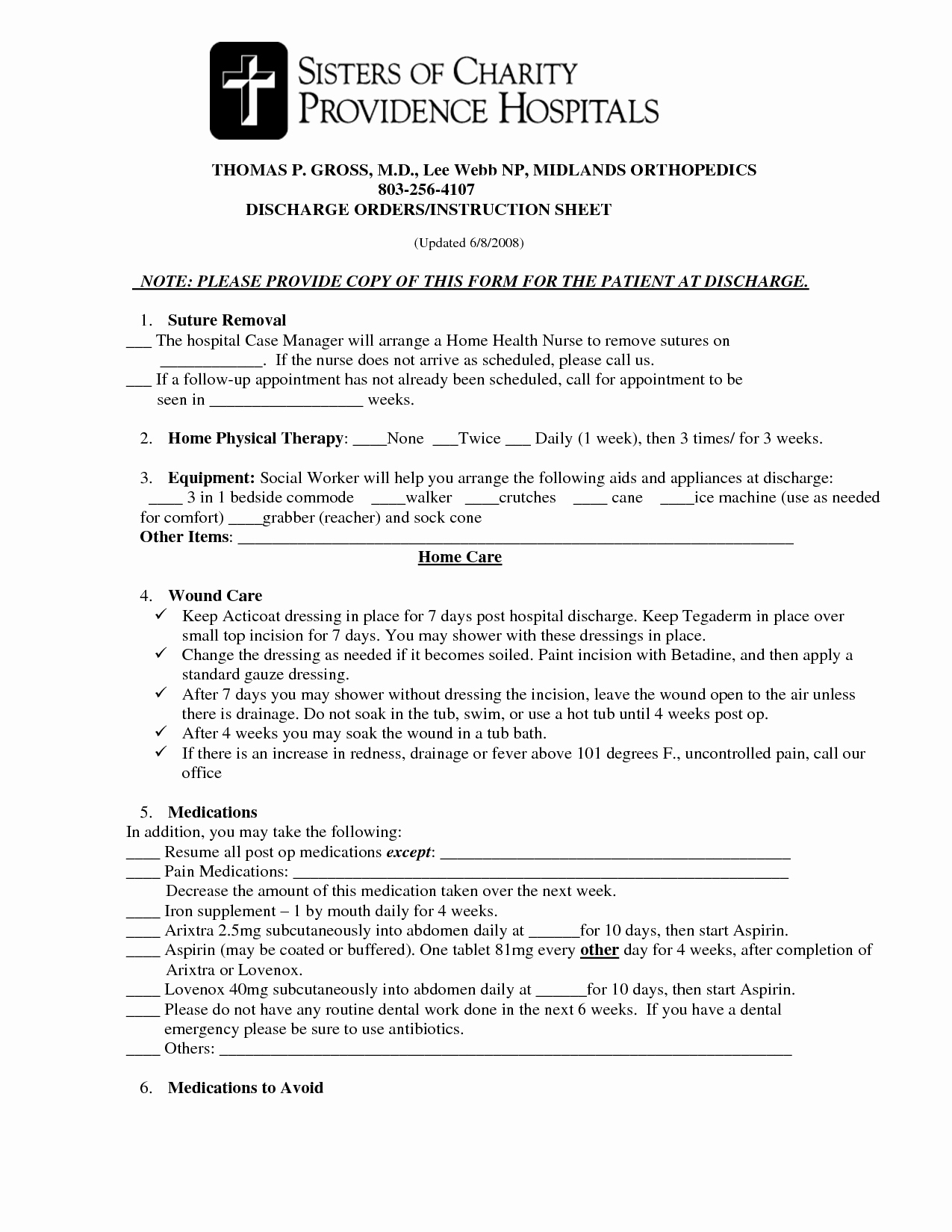 Hospital Discharge form Template Inspirational Best S Of Hospital Discharge Papers Printable Pdf