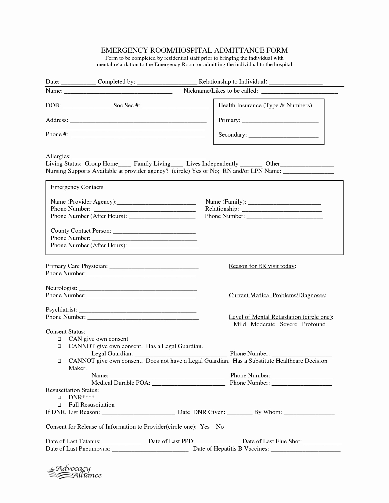 Hospital Release form Template Luxury 9 Best Of Free Printable Hospital Discharge forms