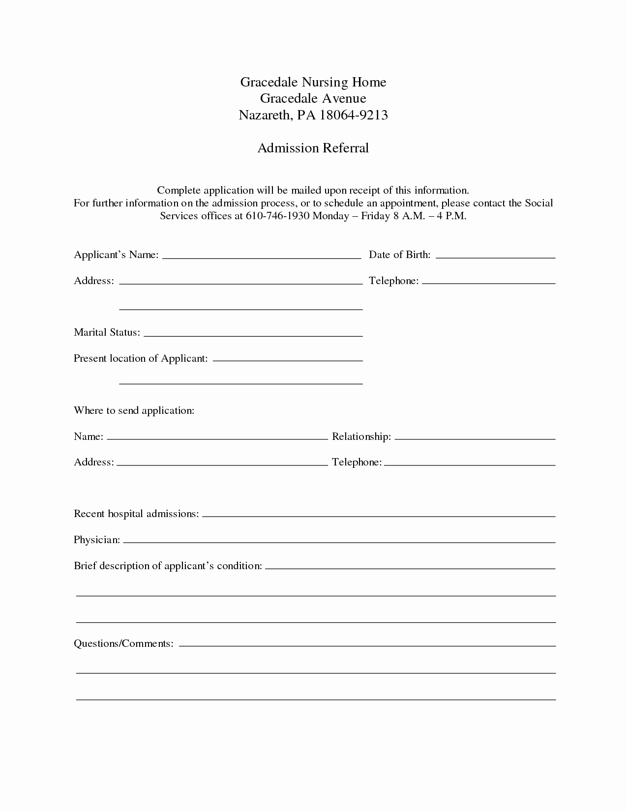 Hospital Release form Template Unique Hospital Admission form Template Portablegasgrillweber