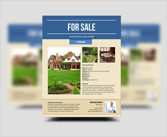 House for Sale Template Beautiful 22 Stylish House for Sale Flyer Templates Ai Psd Docs