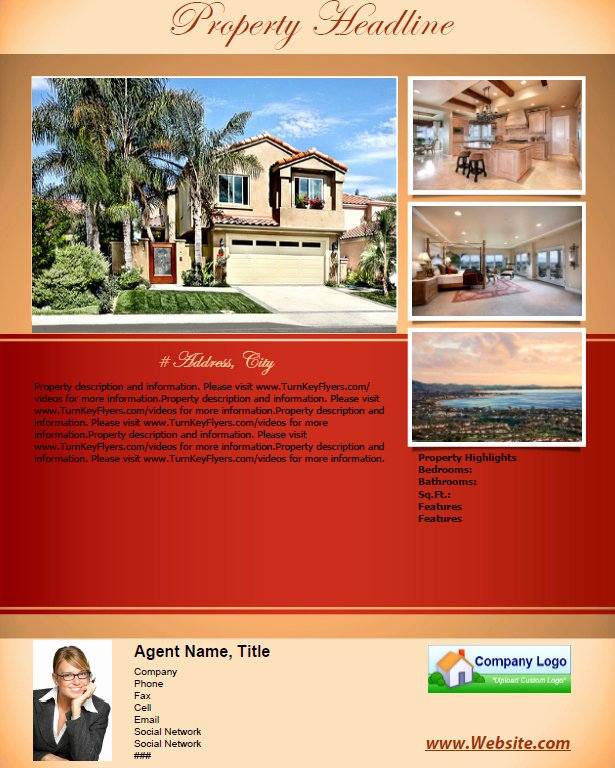 "House for Sale Template Elegant Flyer Templates for ""for Sale by Owners"""
