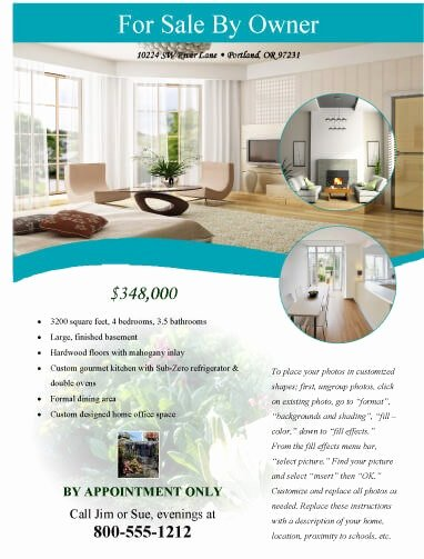 House for Sale Template Inspirational 14 Free Flyers for Real Estate [sell Rent]