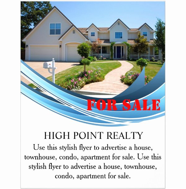 House for Sale Template Unique 44 Psd Real Estate Marketing Flyer Templates