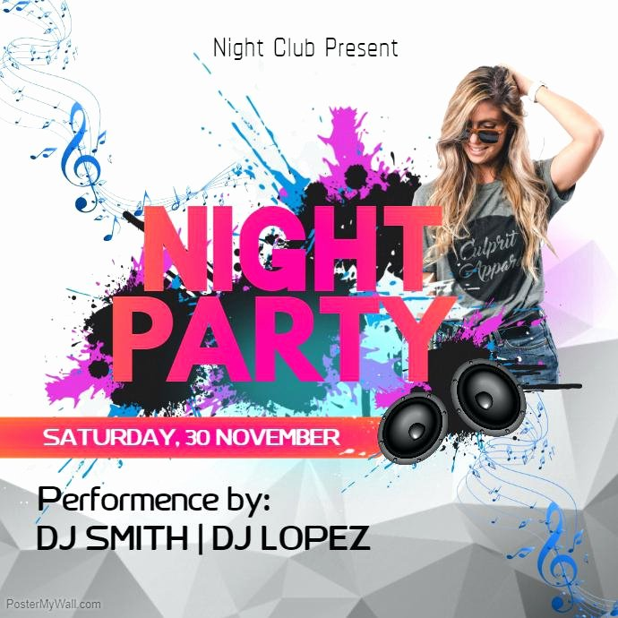 House Party Flyer Template Fresh House Party Flyer Template Free – Cotizarsoat