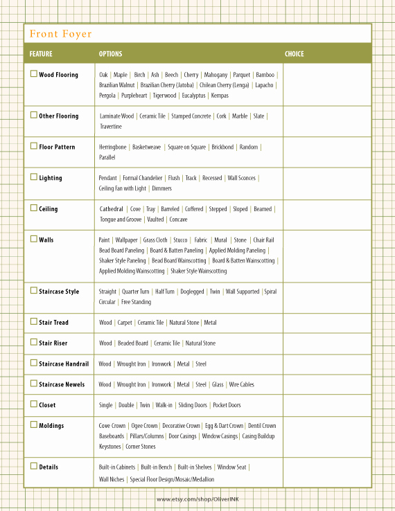 House Renovation Checklist Template Beautiful Home Renovation Checklist Home Building Checklist by